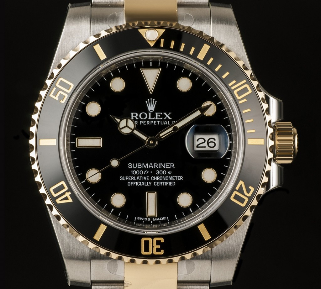 Rolex Oyster Perpetual Submariner Day-Date 116613LN Replica Watches