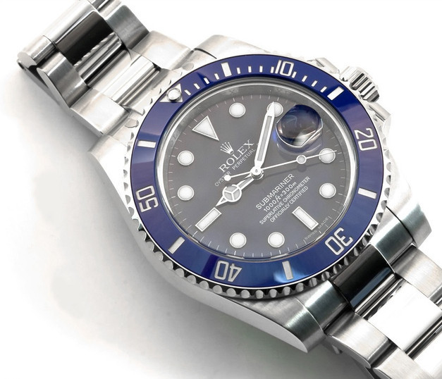 Rolex Submariner Replica 116619LB Watches With Blue Dials