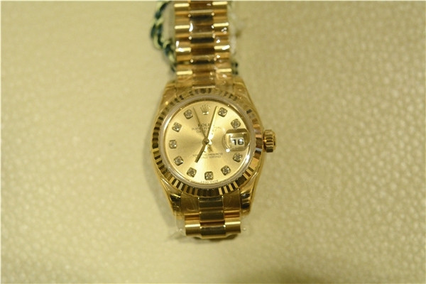 Rolex Lady-Datejust 179178 Replica Watches With Diamonds Plating Time Scales