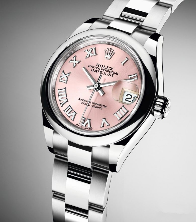 Pink dials copy watches are favor of ladies.