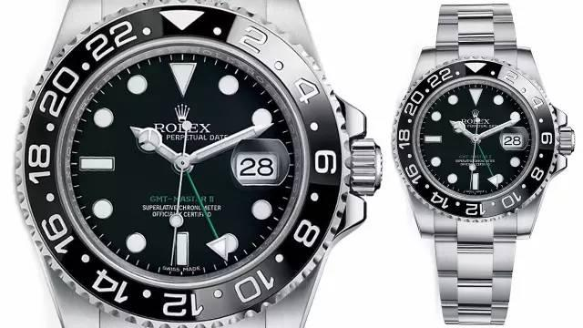 Imitation watches with black dials are classical Rolex watches.