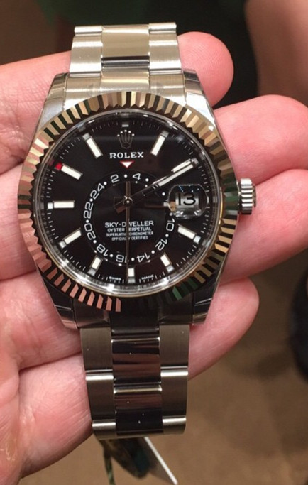 Steel Rolex fake watches have deep attraction to world fans.