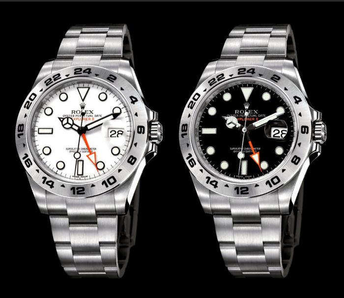 The durable fake watches are made from Oystersteel.
