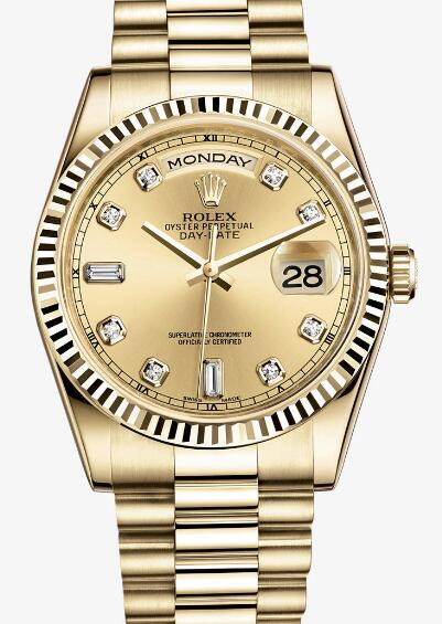 Hot-selling knock-off watches forever are totally in gold.