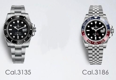 Swiss-made replication watches are similar with date display.