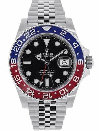 Forever reproduction watches online are distinctive with blue and red colors.